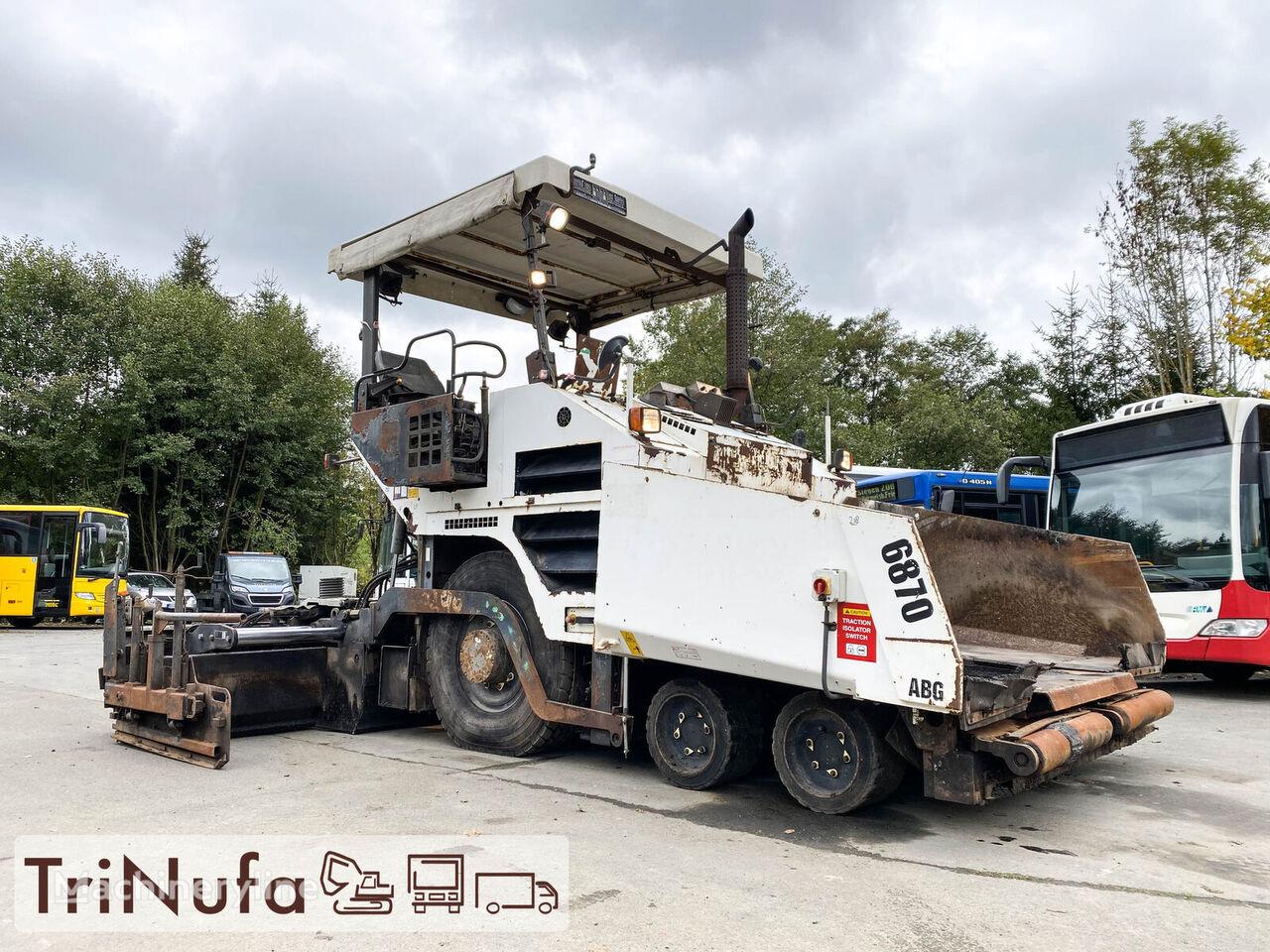 VOLVO 6870 ABG | Fertigungsbreite 5,3m |  kerekes aszfaltterítő
