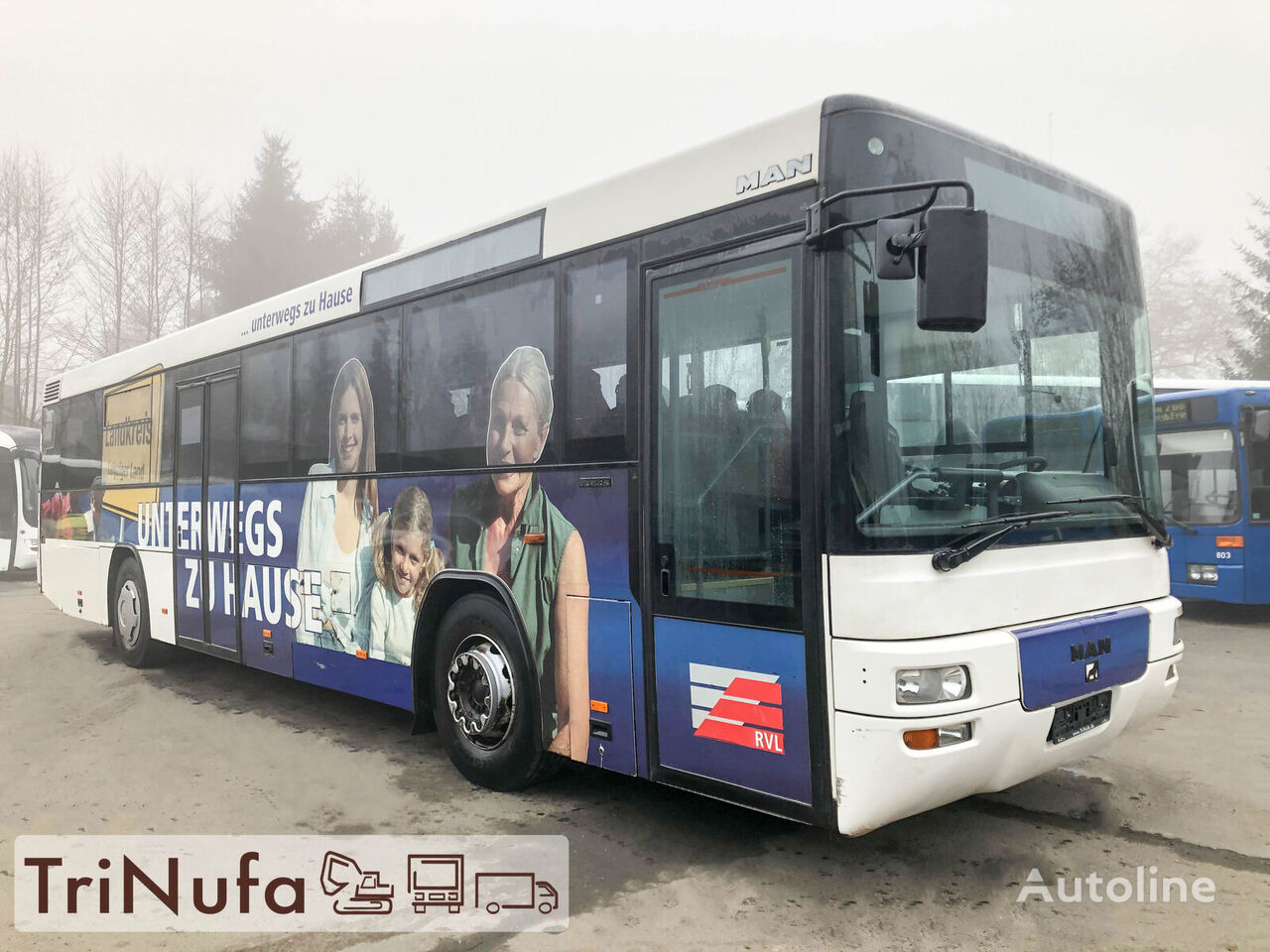 MAN A 72 | Euro 3 | TÜV 11 / 2021 |  távolsági busz