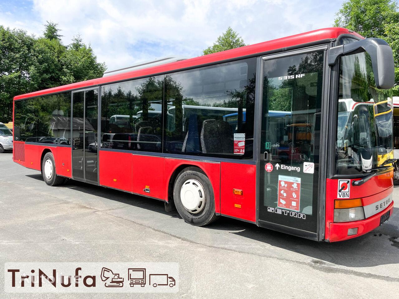 SETRA S 315 NF | Klima | Euro 3 | 299 PS | 47 Sitze |  városi busz
