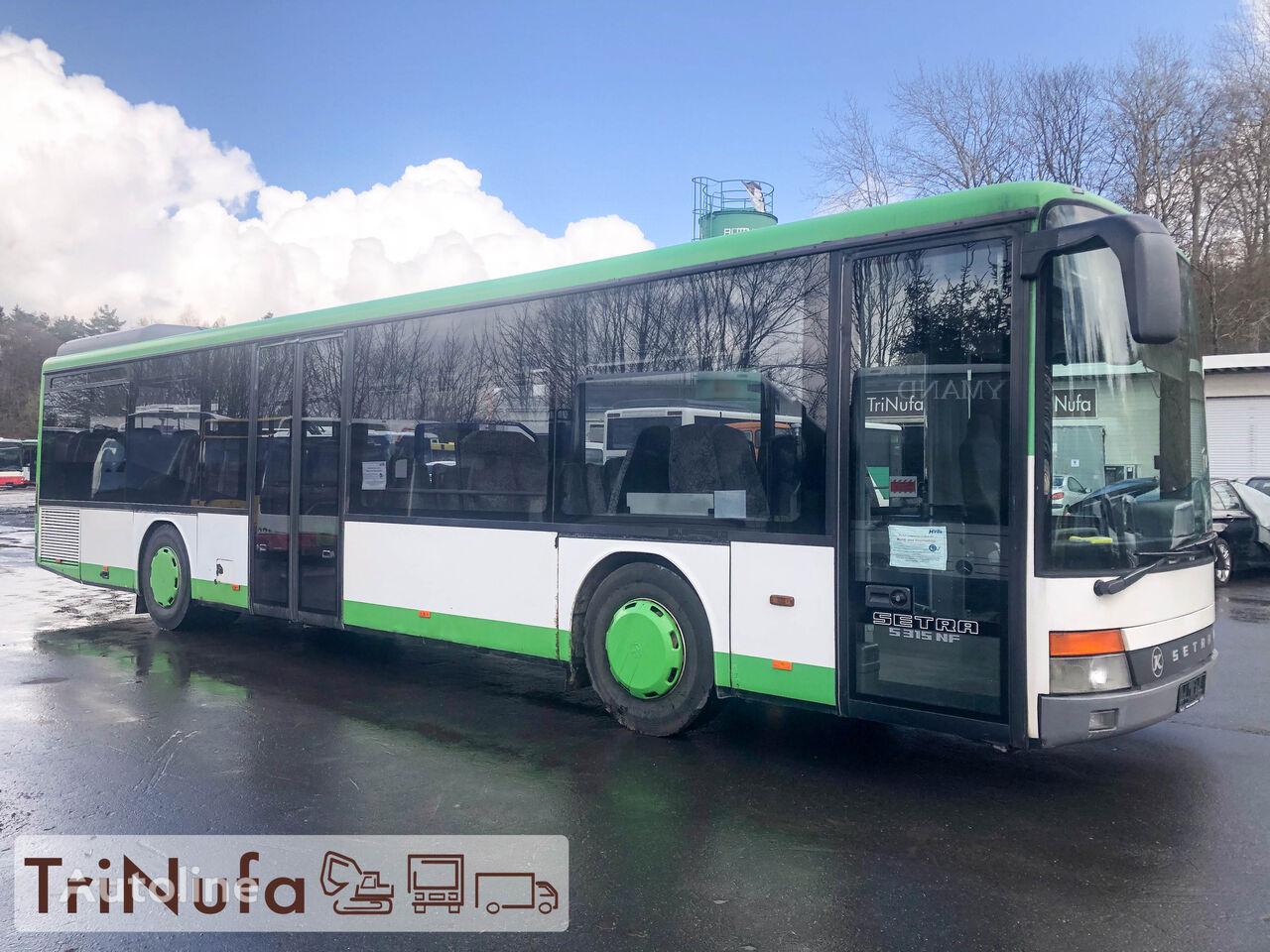 SETRA S 315 NF   TÜV   299 PS   48 Sitzplätze   Schaltgtr.    városi busz