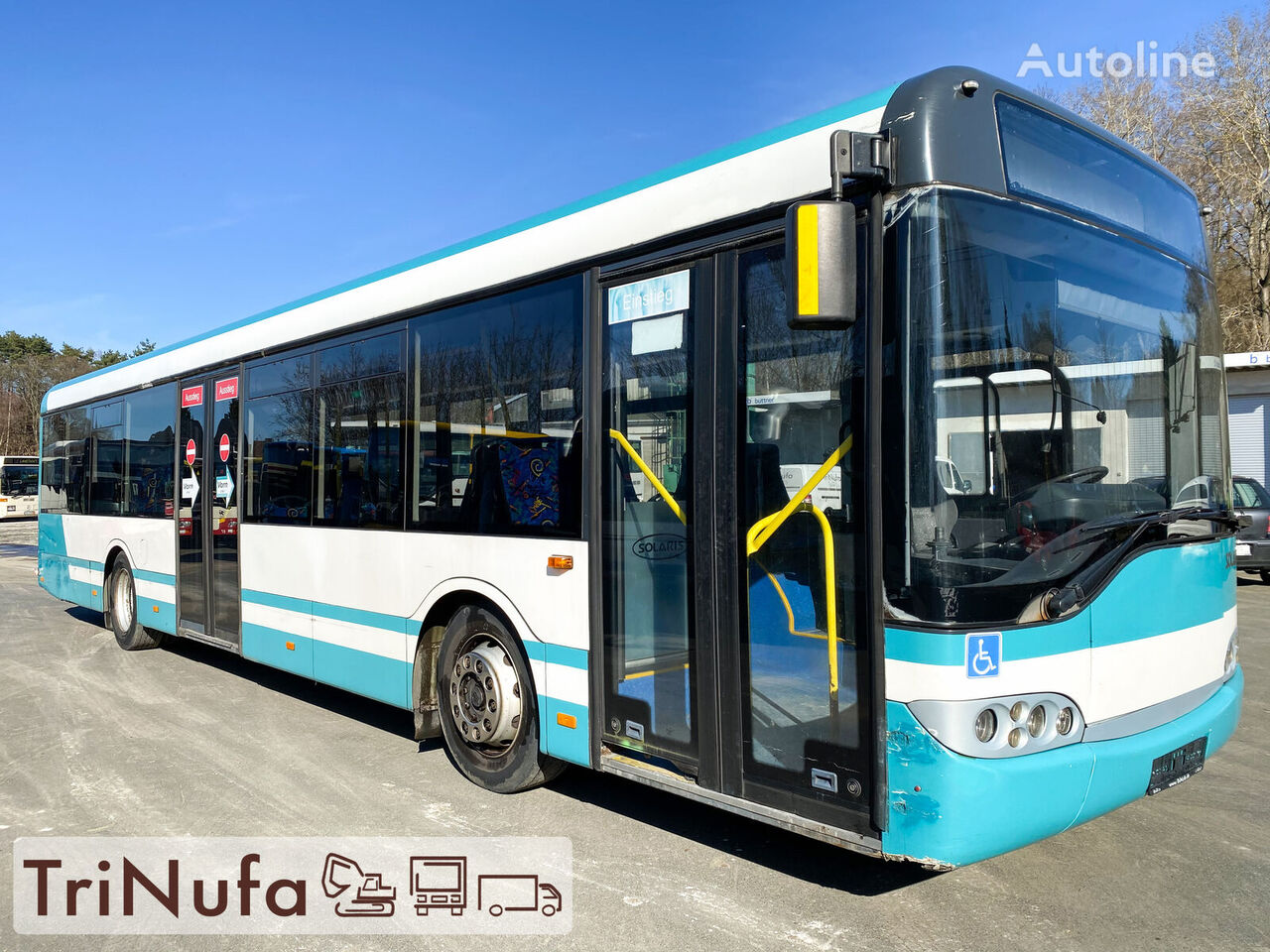 SOLARIS Urbino 12 | 2 x vorhanden | Voith 854.3E | Rampe |  városi busz